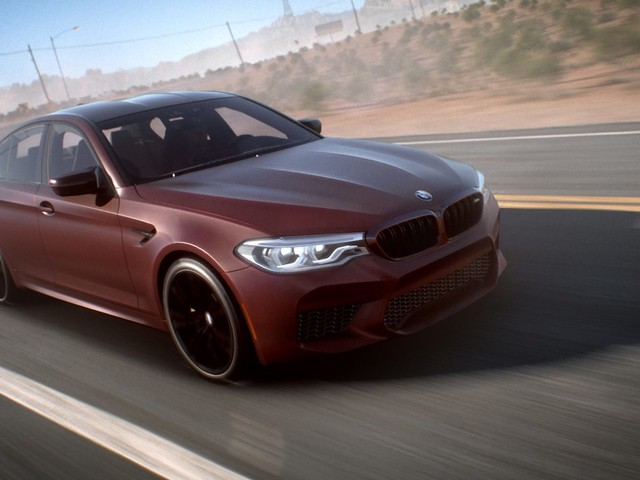 600hp BMW M5 revealed in Need For Speed Payback