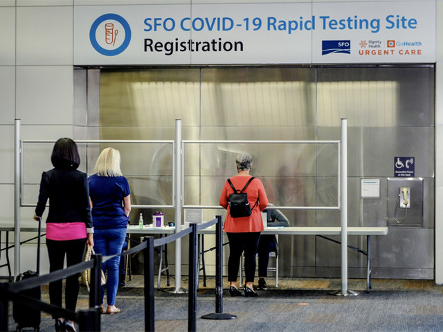 COVID-19 testing at SFO is sold out