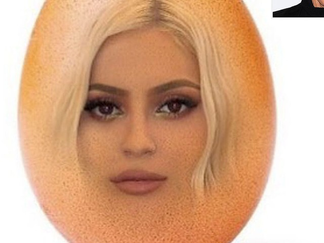 Ellen DeGeneres Enters the Race for Most-Liked Photo By Putting Kylie Jenner's Face in the Egg