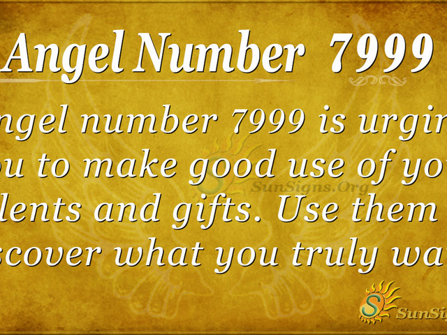 Angel Number 7999 Meaning – Listen To That Inner Voice