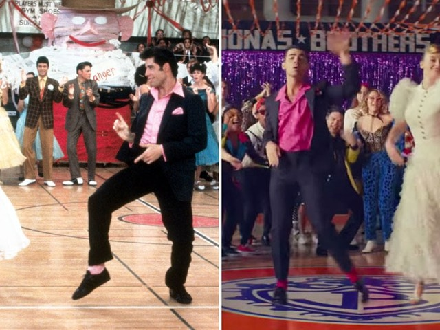 """Side by Side Comparisons of the Movies in the Jonas Brothers """"What a Man Gotta Do"""" Video"""