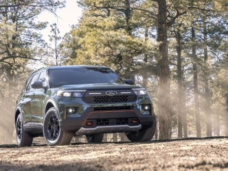 2021 Ford Explorer Timberline Looks Reasonably Ruggedized