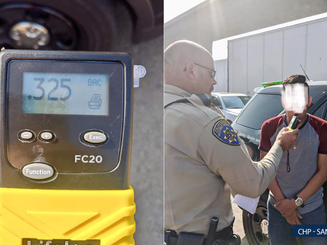 Suspected drunk driver blows 4 times legal BAC after found asleep at the wheel in Santa Ana