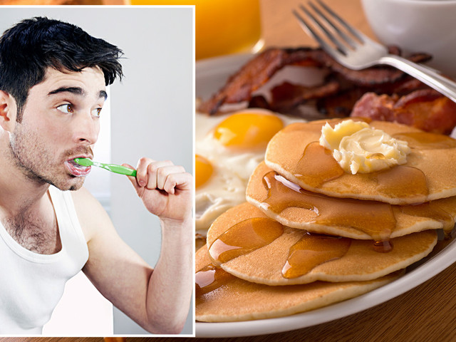 Dentist reveals why it's dangerous to brush your teeth right after breakfast