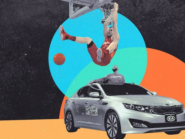 The Decade-long Odyssey of Blake Griffin's Dunk-Contest Kia