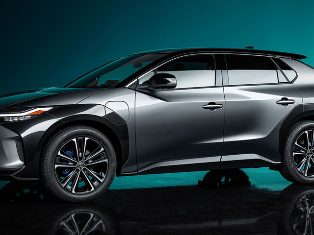 Toyota's bZ4X Concept Previews An Electric SUV Coming In 2022