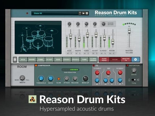 Reason Drum Kits Are Back
