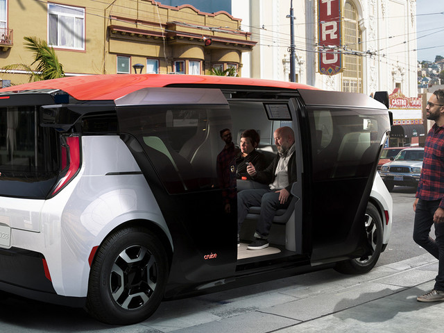The Cruise Origin Is The Electric, Autonomous, Shareable Car Of The Future