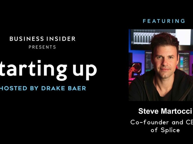 Today at 2 p.m. ET (11 a.m. PT): Starting Up | Splice co-founder Steve Martocci
