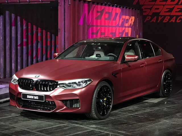 BMW shows off the new M5 in Need for Speed Payback