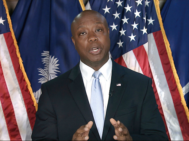Sen. Tim Scott's plea to the nation — 'America is not a racist country'