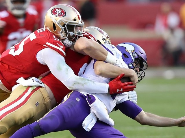 The 49ers defense got healthy just in time to wreck shop