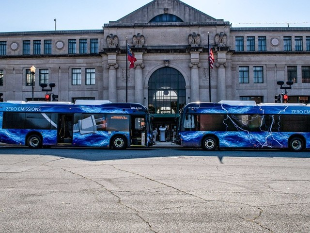 BYD Delivers Battery-Electric Buses to Macon-Bibb County Transit Authority