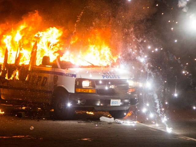 PHOTOS: Protests erupted in New York City as police clashed with demonstrators over the killing of George Floyd
