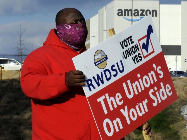 Amazon Pressured Union Voters, US Official Says