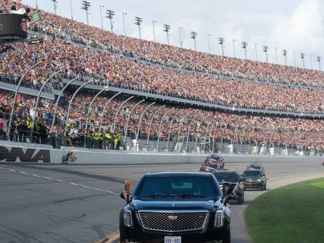 NY Times reporter criticizes President Trump for Daytona 500 appearance. It doesn't end well.