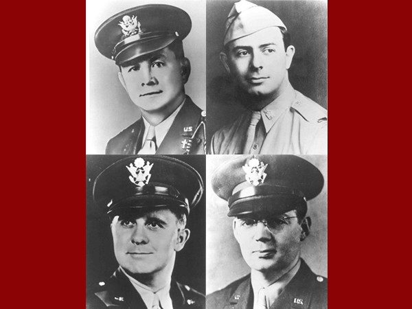 The Four Chaplains Are Honored in Memorial Church