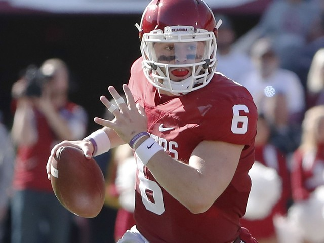 Oklahoma quarterback Baker Mayfield pleads guilty to three misdemeanor charges