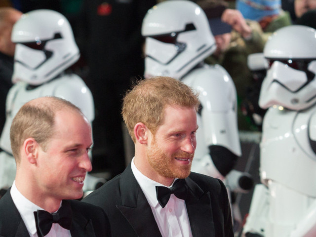 Will We Be Able to Spot Princes William and Harry in the New 'Star Wars' Movie?