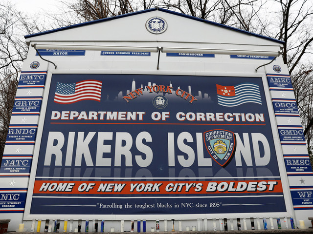 Rikers inmate charged in strangling of prisoner