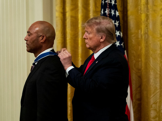 Trump Goes to the Bullpen in Awarding His Latest Presidential Medal of Freedom