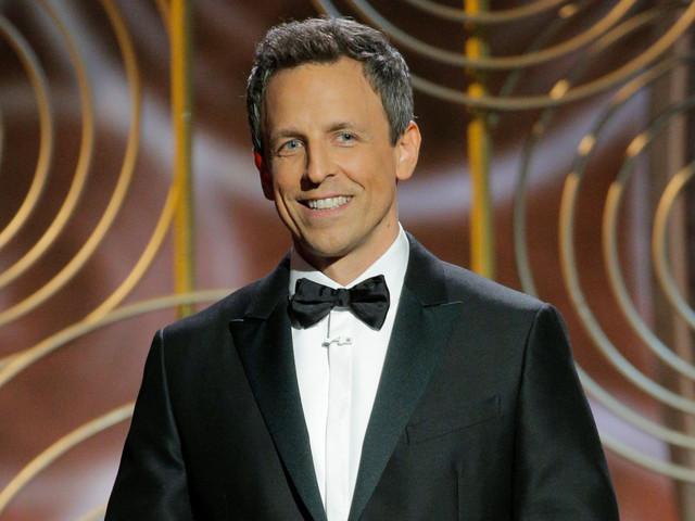 Seth Meyers talks stigma surrounding mental health in the military