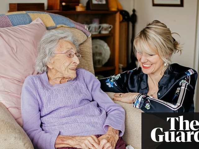 'I put my head on her knee and cried': what my 102-year-old friend taught me about grief