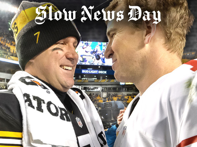 'Slow News Day': Eli Manning & Ben Roethlisberger Are Out, Exciting Quarterbacks are In