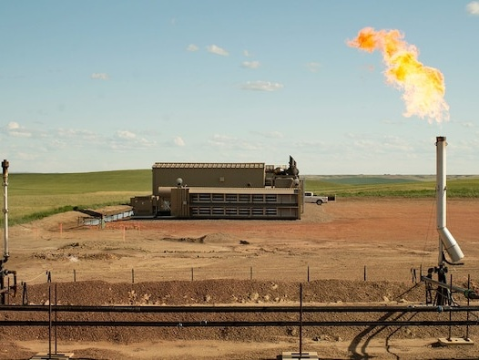 Meet the company mining bitcoin using the flare gas from oil drilling - and drawing investment from Coinbase and the Winklevii