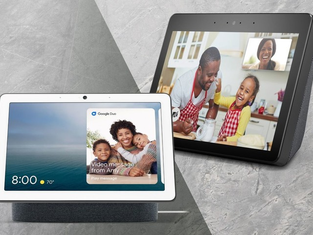 Amazon Echo Show vs. Google Nest Hub Max: Which 10-inch smart display should you buy?