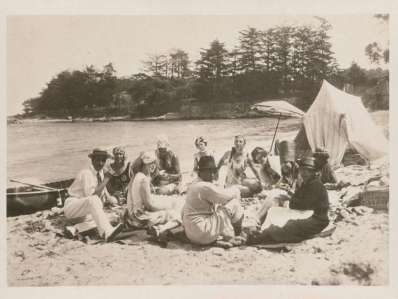 The Mad Beach Party of 1923