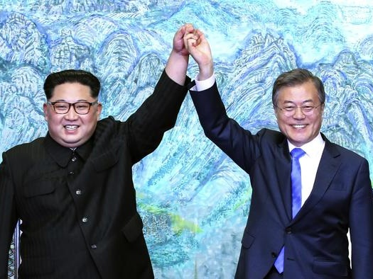 """Two Koreas ExchangeLetters, Agree To """"Recover Trust"""" In Potential Opening For Biden"""