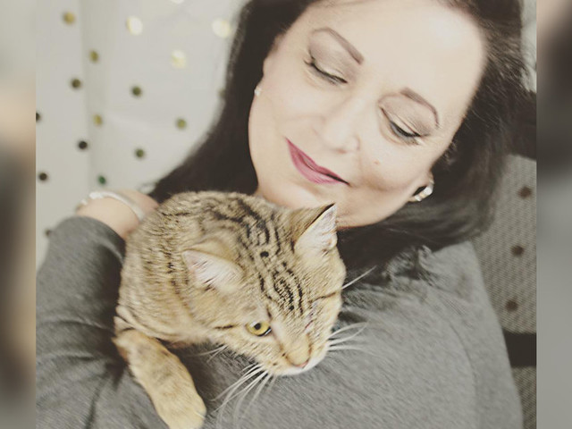 Woman Falls In Love With Cat From Viral Story — And Hops On Plane To Save Her