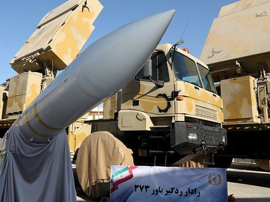 Iran Displays Domestically Built Missile Defence System