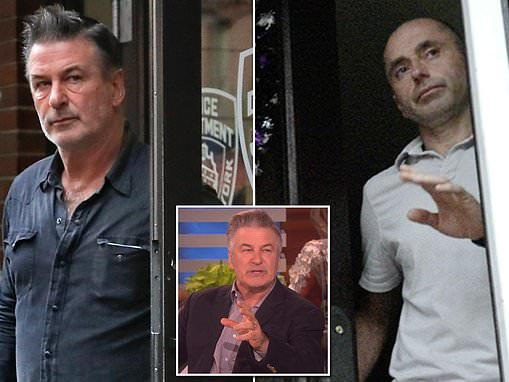 Alec Baldwin is sued by man he punched in the face over a parking spot