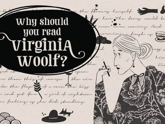 Why Should We Read Virginia Woolf? A TED-Ed Animation Makes the Case