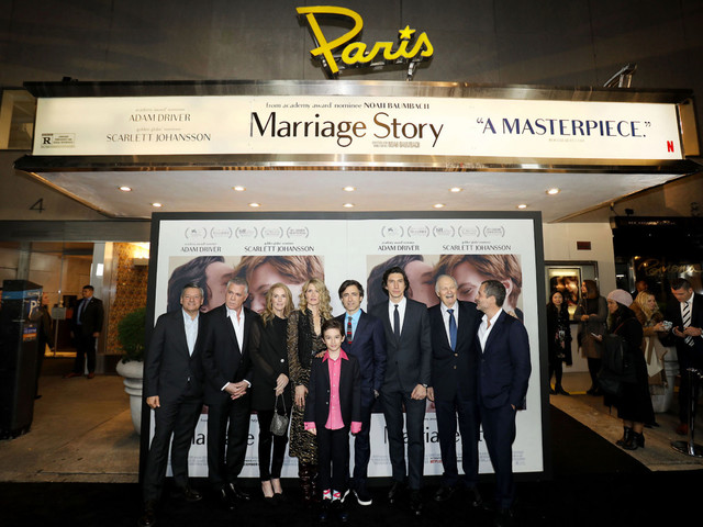 Netflix negotiated deal to open Paris Theatre for 'Marriage Story'