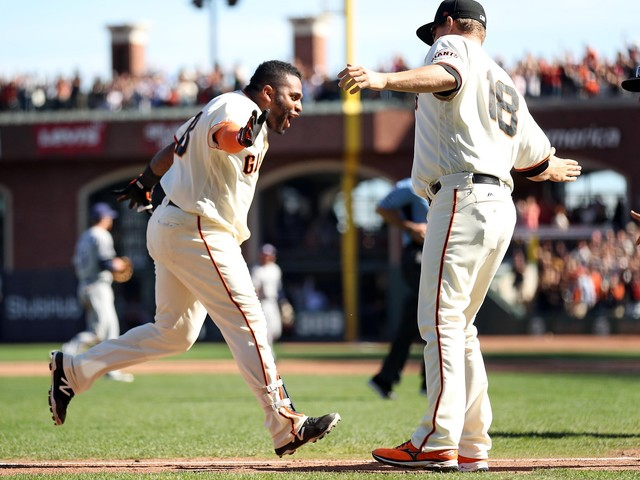 Giants want Pablo Sandoval to make noise off the bench, in the clubhouse