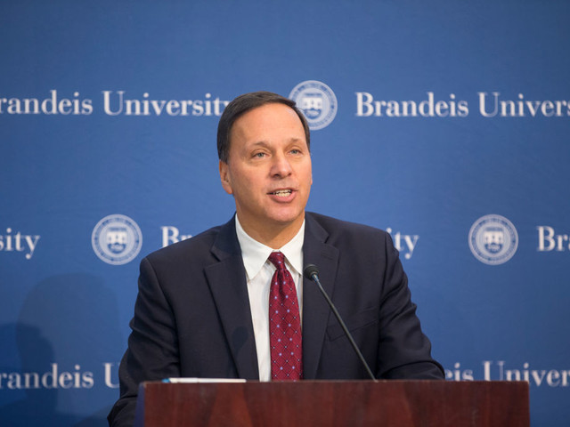 Brandeis University president takes bitter contract negotiations public