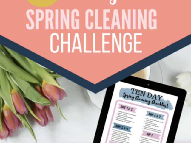Free 10-Day Spring Cleaning Challenge