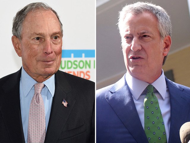 Police union, de Blasio blast Bloomberg over stop-and-frisk apology