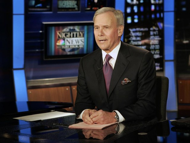 Tom Brokaw Retires From NBC