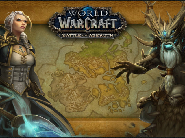 Battle for Azeroth Build 26707 Highlights - Loading Screens, Icons, Maps