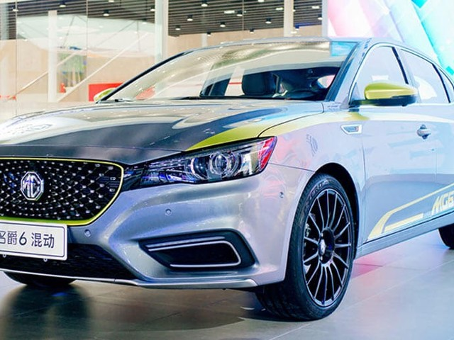 MG6 Plug-in Hybrid Comes With An App-Based Remote Control Driving System