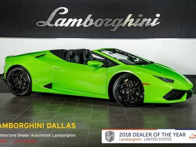 2017 Lamborghini Huracan--Spyder