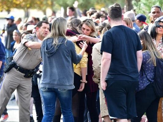 """I Think I Got Shot"": California Students Huddled Terrified In Classrooms"