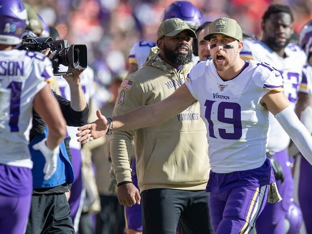 Vikings-Cowboys: Adam Thielen, Linval Joseph ruled out; Trae Waynes questionable to play