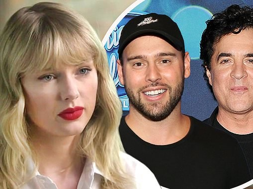 Taylor Swift blasts 'bully' Scooter Braun and Scott Borchetta as she says she will re-record music