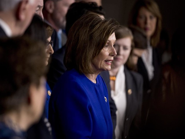 Pelosi Hands Trump a Victory on Trade