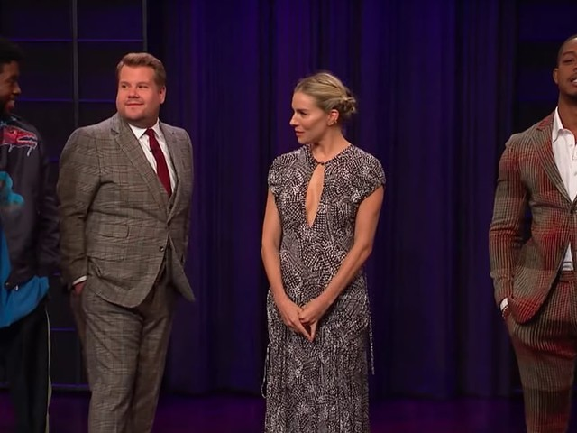James Corden Tries to Guess Who's the Terrible Tipper: Chadwick Boseman, Sienna Miller, or Stephan James